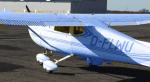 Ja, ich habe es getan. Die Cessna 150 gehört mir.