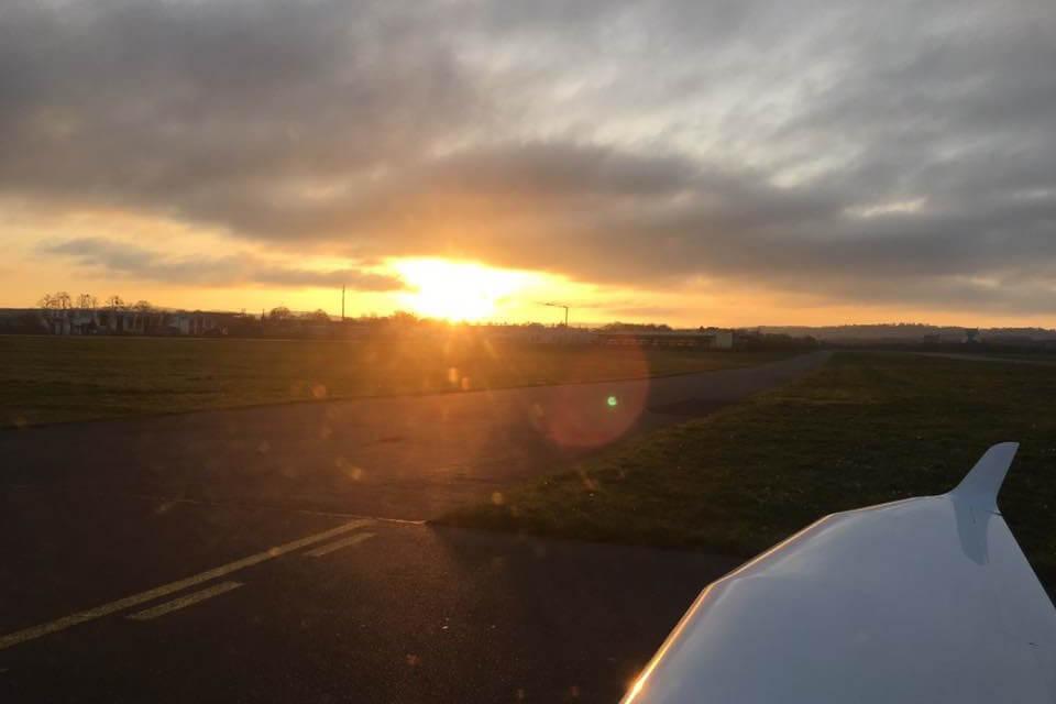 Flug 35 – Fliegen beim schönsten Wetter