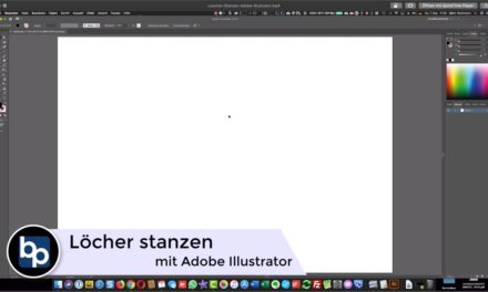 Löcher und For­men stan­zen – Ado­be Illus­tra­tor