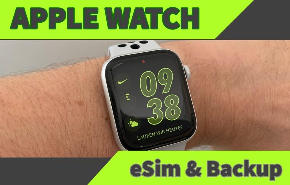 Apple Watch eSim auf neue Watch  übertragen